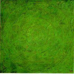 Jasper Johns, 'Green Target'