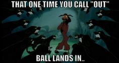 Emperors new groove Volleyball Jokes, Volleyball Problems, Play Volleyball, Volleyball Pictures, Volleyball Players, Soccer, Emperors New Groove, Funny Relatable Memes, Funny Humor