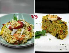 Λαχταριστό κριθαράκι με λαχανικά, σε δύο εύκολες, εκπληκτικής νοστιμιάς και εντυπωσιακές στην όψη εκδοχές, για να αλλάξουμε την γευστική καθημερινότητά μας. Bechamel, Prosciutto, Guacamole, Lasagna, Grains, Rice, Pasta, Ethnic Recipes, Foods