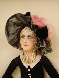 Elegant French Boudoir Doll Deco Era Carefully Preserved in Its Original State | eBay