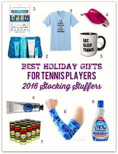 Best Holiday Gifts for Tennis Players – 2016 Stocking Stuffers Holiday Gift Guide, Holiday Fun, Holiday Gifts, Secret Sister Gifts, Senior Day, Beach Tennis, Tennis Gifts, Senior Gifts, Tennis Players Female