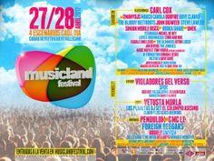 Este fin de semana estaremos en la 1ª edición de Musicland Festival en Madrid