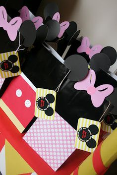 And Everything Sweet: Olivia's Birthday Party  FAVOR BAGS!