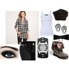 Outfit I pulled together; Inspired by the Dr Marten shoes I've fallen in love with.