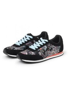 Odd Molly Running Free City Trainers 617M-698 almost black