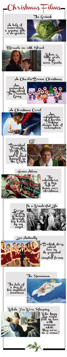 Top 10 Christmas Films by We Heart Home
