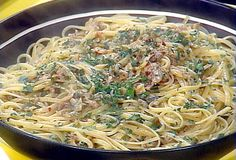 Linguini with Clam Sauce from FoodNetwork.com