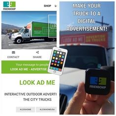"""Make your truck or car to a digital advertisement! 😎 Just put a FriendChip Beacon on your truck and send your digital message via Bluetooth from your truck or car to smartphones nearby! 🚛📲#truck #car #digitalmarketing #lookadmeusa #friendchip #beacon #eddystone #eddystonebeacon #physicalweb #gadget #google #android #bluetooth #ble #app #beaconscanner #sticker #wearable #bracelet #keychain #ibeacon  #scanner #app #iot #friendship #nearby"" by @friendchipnet. #biztip #marketinglife #smtips…"