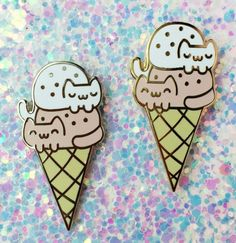 Caticones, who are just as sweet as ice cream!