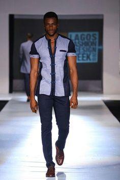 Nigerian Men Fashion, African Men Fashion, Mens Fashion, African Clothing For Men, African Shirts, African Attire, African Wear, Raining Men, African Fabric