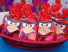 angry bird birthday party ideas | AND I even wore one on the front of my blue dress. Too bad I didn't ...