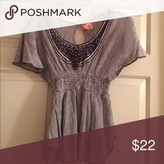 Free People Top Just dry cleaned! Great top for interviews or just going out and about! No flaws! Free People Tops Blouses