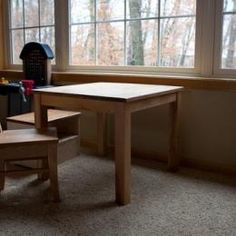 Free DIY Furniture Plans to Build a Pottery Barn Kids Inspired My First Table and Chairs   The Design Confidential