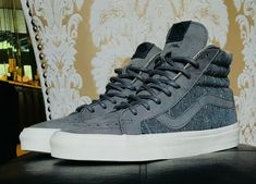 4dff2954e20850 Brand New VANS SK8-HI REISSUE DX TWEED GREY SIZE US M 8 W 9.5  VANS   AthleticSneakers