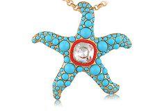 Calypso Starfish Necklace on OneKingsLane.com