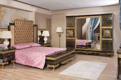 Modern Classic Bedroom, King Bedroom Sets, Decoration, Vintage Furniture, Luxury, Home Decor, Decor, Decoration Home, Room Decor