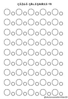 Trace the Dotted Lines Worksheets for Kids - Preschool and Kindergarten Alphabet Writing Practice, Alphabet Tracing Worksheets, Kindergarten Worksheets, Worksheets For Kids, Preschool Writing, Preschool Learning, Learning Centers, Pre Writing, Writing Skills