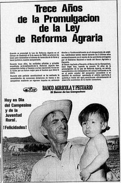 Aniversario de la promulgación de la reforma agraria. Publicado el 5 de marzo de 1973.