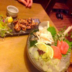 #金沢の想い出 - 19件のもぐもぐ - 地鶏の炙り焼きと、梅貝とさわらのお刺身♥️梅貝もさわらも美味しすぎ!!こんなの私の地元では食べれせん by maayamustaG0E