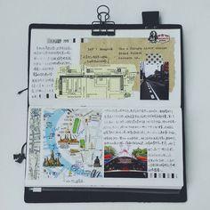 [在曼谷的第一天] 任何东西在我眼里都特别新鲜啊路上遇到好心的华人叔叔给我们指路,告诉我们要去便宜的码头坐游船,还在地图上标记下来他的笔迹被我保存在手帐里啦…