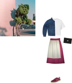 """Sunset"" skirt by #xoanyu, now on sales: http://www.xoanyu.com/shop.html"