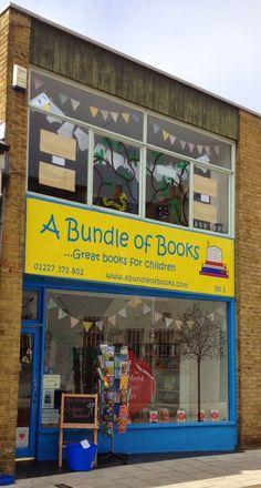 A bundle of bookshop joy. A Bundle of Books, Herne Bay, Kent