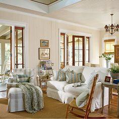 estilo de decoração cottage