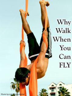 Why Walk When You Can FLY