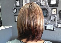 Back Of Bob Hairstyles Picture Long Layered Bob Hairstyles Back View
