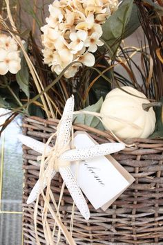 Instead of an Autumn Wreath, Try This Basket!
