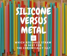 For chronic illness sufferers: which reusable straw is better, metal or silicone? Eco friendly plastic-free Chronic Fatigue, Chronic Illness, Tremors Hand, Info Board, Facebook Support, Metal Straws, Medical Advice, Disability, My Coffee