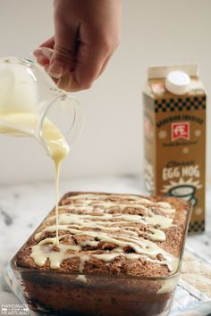 We can't wait to try @angelareneemuir's yummy AE Dairy Egg Nog Bread.