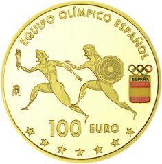 100 Euro Gold Olympiade Rio PP