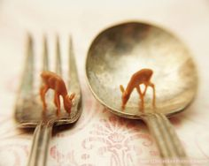 Deer Print Curiosities SurrealWhimsy Etsy Art by ALPhotography