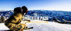 The Unbeaten Path - Sun Valley, Idaho | #skiing #baldmountain #baldy