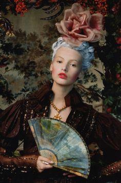 Mona Johanneson by Juan Gotti for Vogue Espana (October 2006)