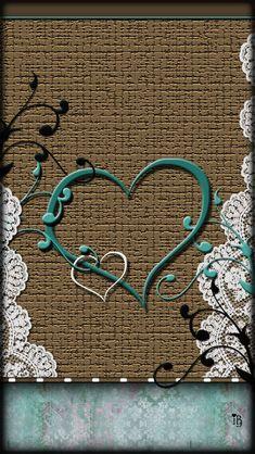 Heart 'N Lace Wallpaper. Lace Wallpaper, Emo Wallpaper, Pretty Phone Wallpaper, Holiday Wallpaper, Wallpaper For Your Phone, Heart Wallpaper, Cellphone Wallpaper, Colorful Wallpaper, Wallpaper Backgrounds