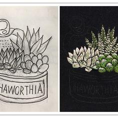 クリスマス刺繍を一旦休憩して、 ハオルチア寄せ植え刺繍  してます。 最近、ハオルチア画像を見て癒される日々でしたので、むくむくと刺繍欲が。 今回のリメ缶は初のプルトップ付き。 モデルのハオルチアは、 左が#氷砂糖 正式名称かわからないけど、、 右は手前#オブツーサ  右奥が、#十二の巻 です。 : : #ハオルシア #haworthiafasciata #haworthias #刺繍 #多肉 #多肉植物 #succulent #succulents #haworthia #寄せ植え #ハオルチア #刺繍 #embroidery #handembroidery #ハオルチア 氷砂糖 #リメ缶
