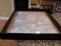"""Small Crafty Project: Custom LED Backlit 40""""x60"""" Frame For A Canvas - Project Showcase - DIY Chatroom Home Improvement Forum"""