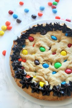 M&M's® Cookie Dough {for Giant Cookie Cake and Peanut Butter Cookie Bars} - The Tasty Bite Brownie Recipes, Cheesecake Recipes, Dessert Recipes, Desserts, Bar Recipes, Candy Recipes, Stir Fry Recipes, Pork Chop Recipes, Giant Cookie Cake