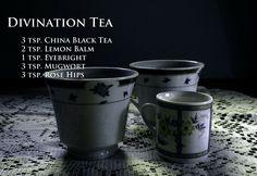 Divination Tea... Witch's Brew Tea Recipes