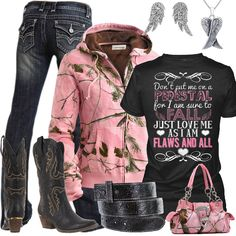 8d0516ae525c Pink Realtree Camo Outfit. Country Style OutfitsCountry Girl ...