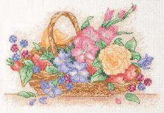 free Flower Cross Stitch Patterns