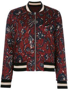 Shop+Isabel+Marant+Étoile+Dabney+bomber+jacket.