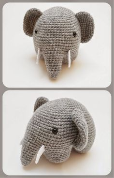 An incredibly cute elephant #pattern!