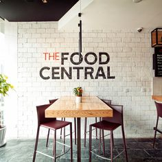 "The Food Central, Retail Shop & Contemporary Bistro Restaurant featuring various Cooking ""Stations"", Shanghai, by Red Design Consultants"