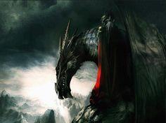 """Aegon """"The Conqueror"""" Targaryen  Balerion 'The Black Dread'"""