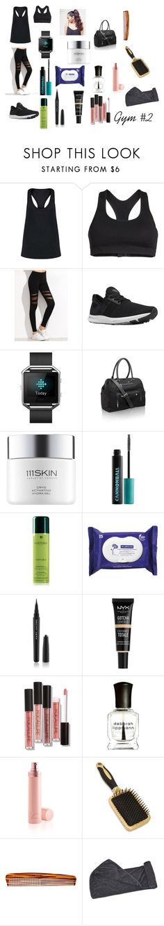 """""""Gym #2"""" by chloelucie ❤ liked on Polyvore featuring Zella, New Balance, Fitbit, Amanda Wakeley, 111Skin, Urban Decay, Rene Furterer, Klorane, Marc Jacobs and NYX"""