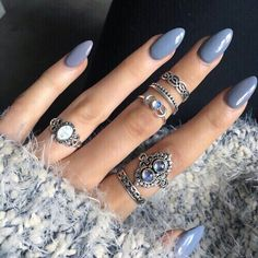 cobalt blue stiletto nails - Google Search