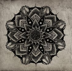 symetrie-parfaite-tout-droit-venus-du-tibet-23 #mandala #coloriage #adulte via dessin2mandala.com